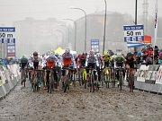 V Uničově se konal poslední závod českého poháru v cyklokrosu