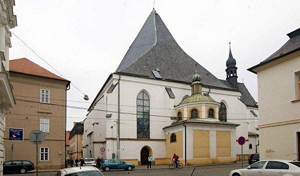 Dominikánský kostel vSokolské ulici vOlomouci