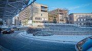 Stavba nové budovy II. interní kliniky a geriatrie v olomoucké fakultní nemocnici
