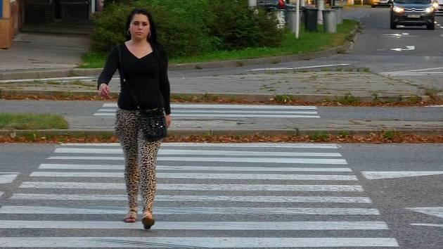 Křižovatka ulic Na střelnici a Lazecká