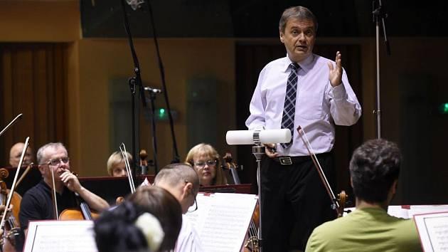 Ředitel Moravské filharmonie Vladislav Kvapil