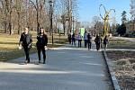 Olomouc, Smetanovy sady, 3. března 2021