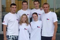 Plavci s ploutvemi na MEv Kazani