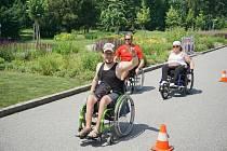 Olomoucká štafeta na vozíku