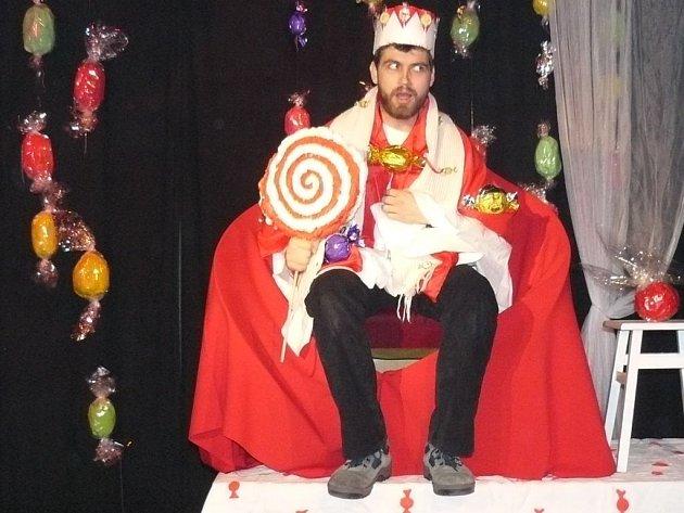 Pohádka O králi, který rád mlsal, v divadle Tramtarie