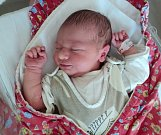 Julie Salaqvardová, Paseka, narozena 11. července ve Šternberku, míra 50 cm, váha 3500 g
