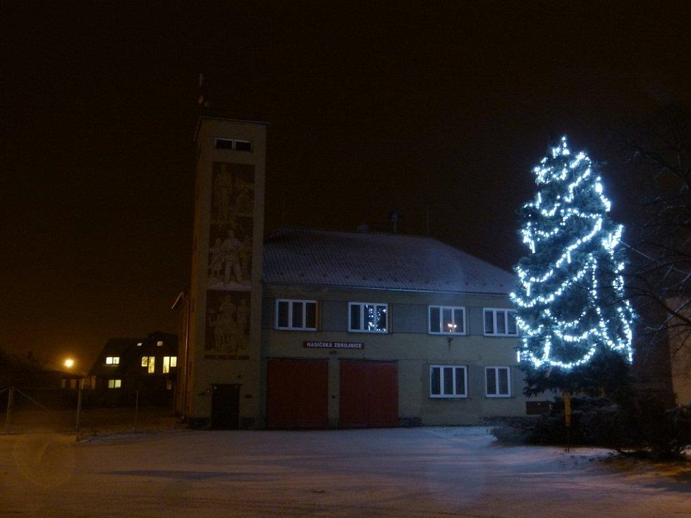7. Červenka, vánoční strom