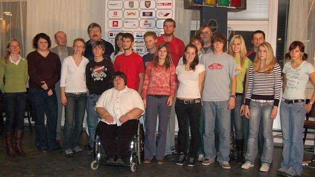 Nejlepší atleti AK Olomouc za rok 2007.
