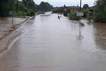 Následky bouřky, která se prohnala Olomouckem a Prostějovskem 19. června 2019