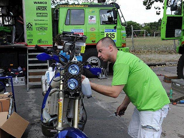Dakar - příprava na technické přejímky