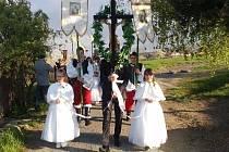 Tradiční slavnost s průvodem a mší udržují v městské části Olomouce v Droždíně.