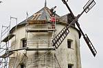 Větrný mlýn ve Městě Libavá