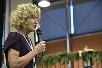 Zuzana Bubílková. Závěr vánočního jarmarku na Výstavišti Flora Olomouc, 15. 12. 2019