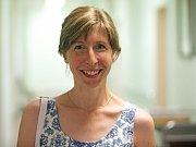 Jana Božová, pacientka, které k úspěšnému porodu pomohl šetrný zákrok s pomocí robota Da Vinci v olomoucké fakultní nemocnici
