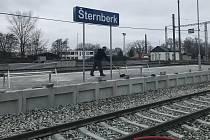 Přestavba na železnici mezi Olomoucí a Šternberkem finišuje. 13. prosince 2020