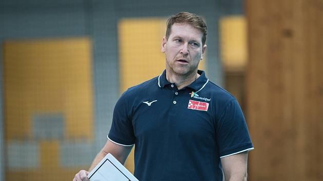 Trenér volejbalistek Olomouce Petr Zapletal