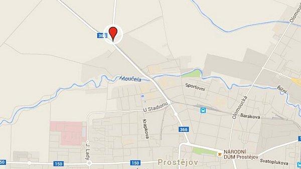 1) Prostějov, Kostelecká ulice