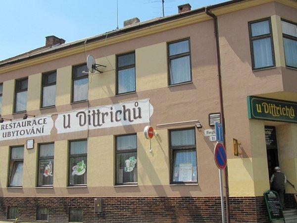 Restaurace - ubytování UDittrichů
