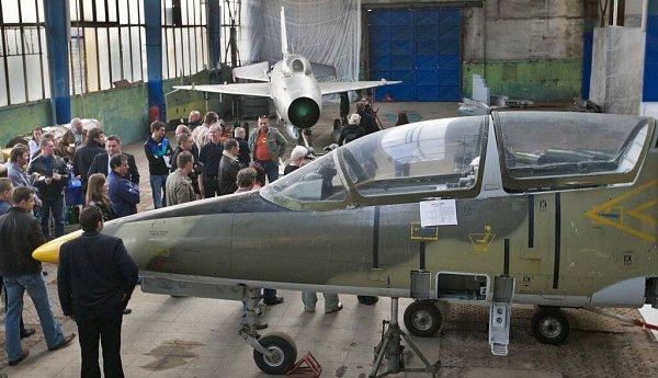 Letecké muzeum vOlomouci při slavnostním otevření na jaře 2010