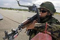 Vojenské cvičení na Libavé. Ilustrační foto