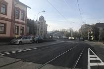 Litovelská ulice v Olomouci je opět průjezdná.