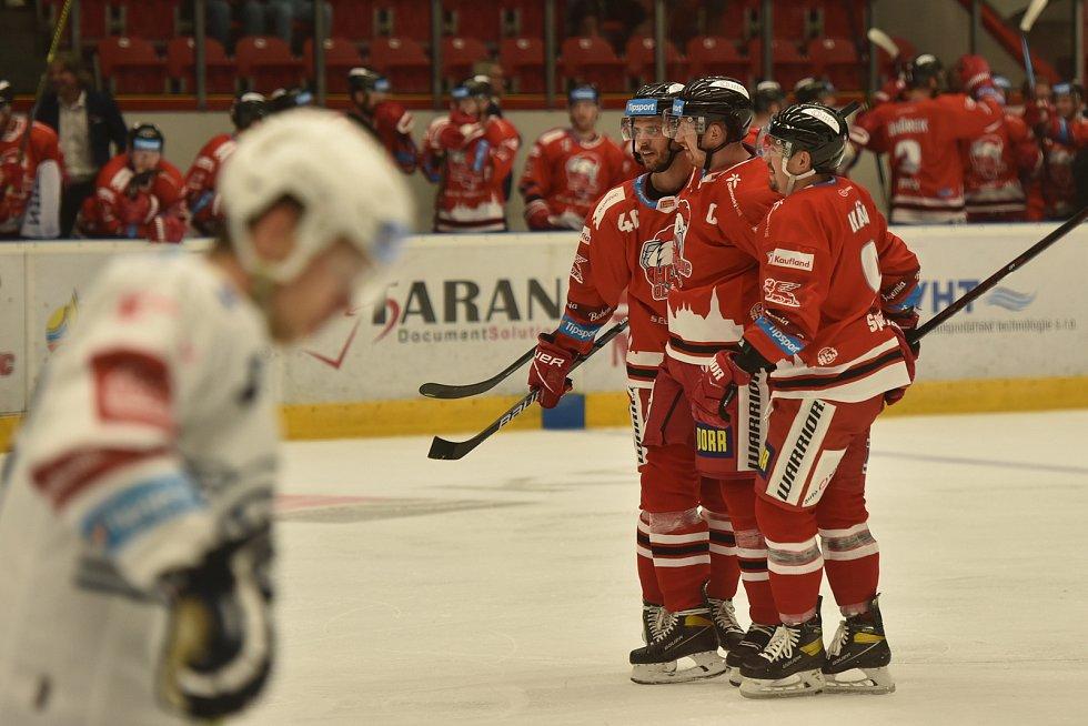 Hokejová extraliga HC Olomouc - Plzeň