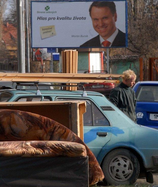 6. dubna 2006, povodňový úklid v Černovíře
