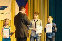 Vyhlášení  nejlepších bojovníků  a  vítězů  nejvyšších  soutěží  v taekwondoza rok 2010