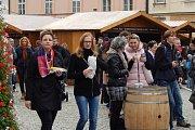 Svatomartinské trhy na Horním náměstí v Olomouci