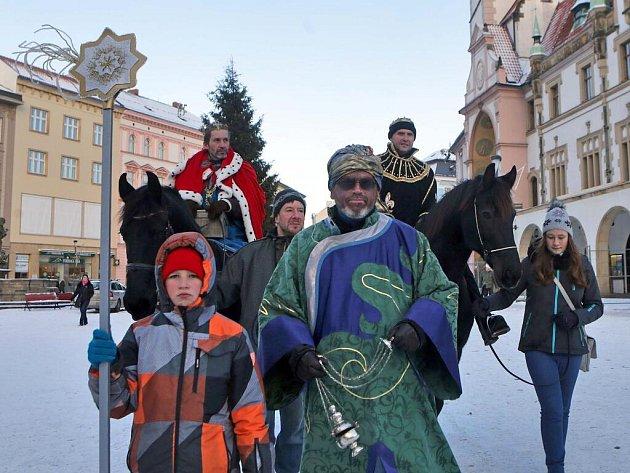 Tři králové v centru Olomouce