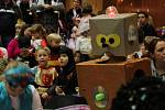 Dětský maškarní karneval ve Velkém Týnci