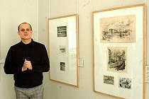 S koncepcí výstavy pomohl historik umění Jakub Potůček (na snímku).