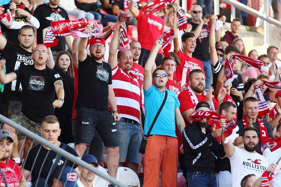 4. kolo FORTUNA:LIGY: FC Zbrojovka Brno - SK Sigma Olomouc 2:4