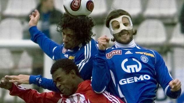 Trio Brazilců - Rossi, Da Silva a Melinho.