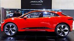 Koncept vozu Jaguar I-PACE představený na ženevském autosalonu v březnu 2017