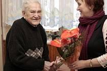 Václav Jedlička z Uničova oslavil 102. narozeniny