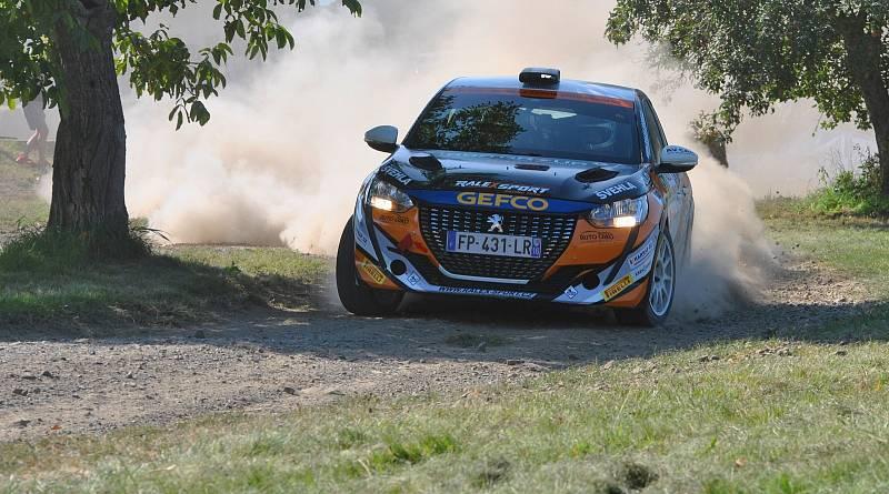 David Štefan na Rally Vyškov