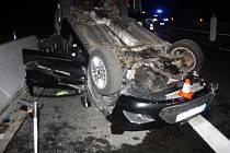 Nehoda na 271. kilometru dálnice D35 u Olomouce