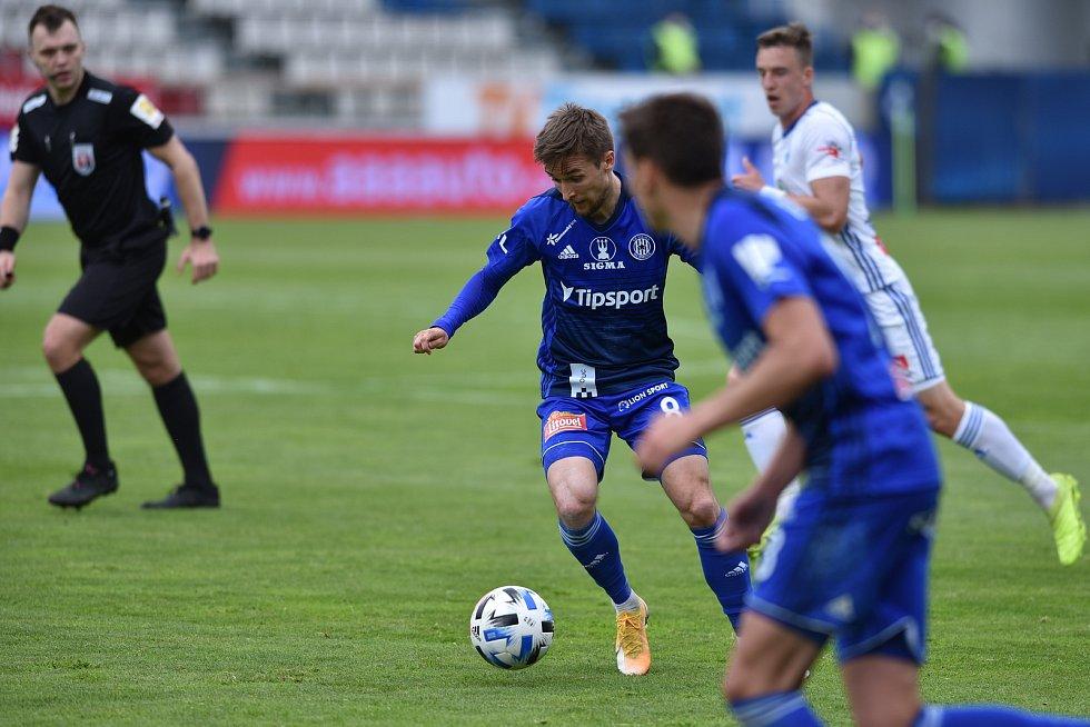 Fotbalisté Sigmy Olomouc proti Mladé Boleslavi.