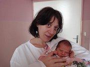 Karolína Martinézová, Olomouc, narozena 24. července v Olomouci, míra 48 cm, váha 2480 g.