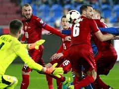 Česká fotbalová reprezentace. Ilustrační foto