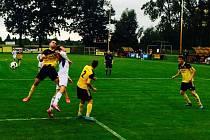 Nové Sady – Velké Karlovice-Karolinka 1:2 (1:0).