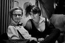 Markéta Králová se svým manželem, divadelním hercem Ondřejem Králem
