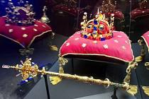 České korunovační klenoty ve Vlastivědném muzeu v Olomouci