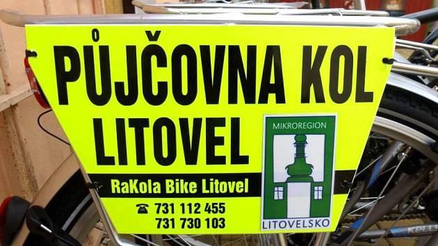 V Litovli si turisté mohou nově půjčit kolo a projet si město a jeho okolí.