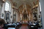 Svěcení pramene Jana Adama z Lichtenštejna ve Slatinicích