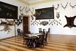 Expozice Lovecko-lesnického muzea na zámku Úsov