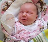 Sandra Jelínková, Drahlov, narozena 2. dubna v Olomouci, míra 50 cm, váha 3750 g