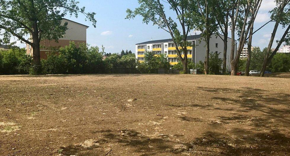 Po bývalém armádním areálu na Tabulovém vrchu v Olomouci už nic nezbylo