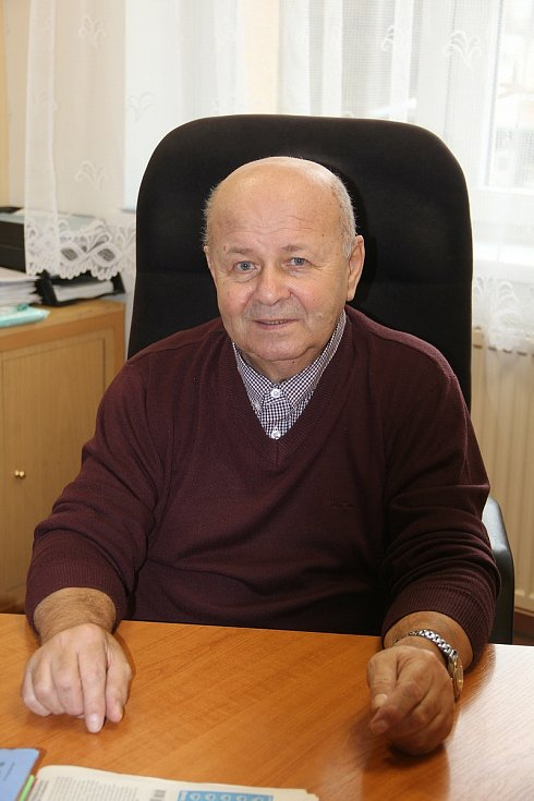 Starosta Hněvotína Jaroslav Dvořák